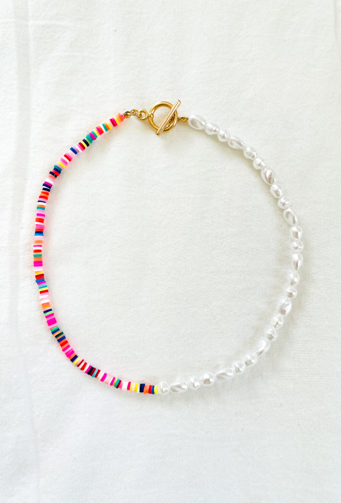 CALIstyle Summer Days Beaded Necklace