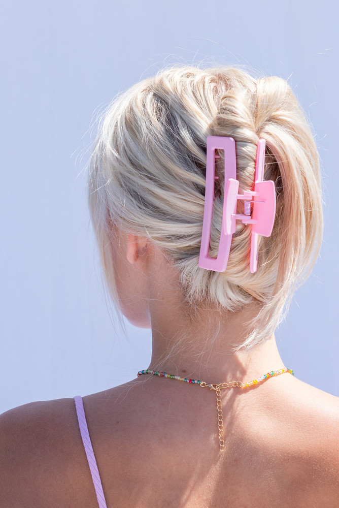 CALIstyle Summer Days Hair Clip/Claw In Pink
