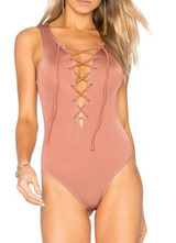 Tularosa Nile Bodysuit In Blush