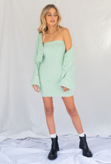 CALIstyle Travel Diaries Tube Dress/Skirt In Mint