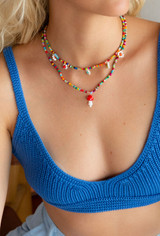 CALIstyle 90's Baby Beaded Necklace
