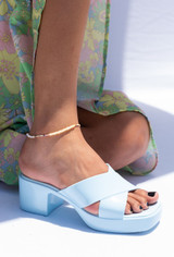 CALIstyle Summer Set Anklet With Pearls/Beads & Gold