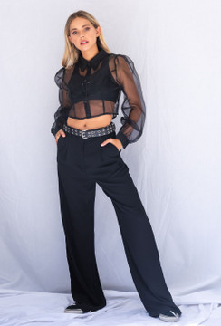 CALIstyle Giselle Trouser In Black