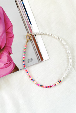 CALIstyle Summer Days Beaded NecklaceC