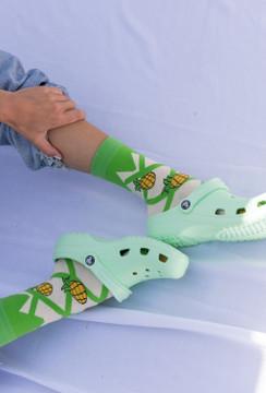CALIstyle Pineapple Express Socks