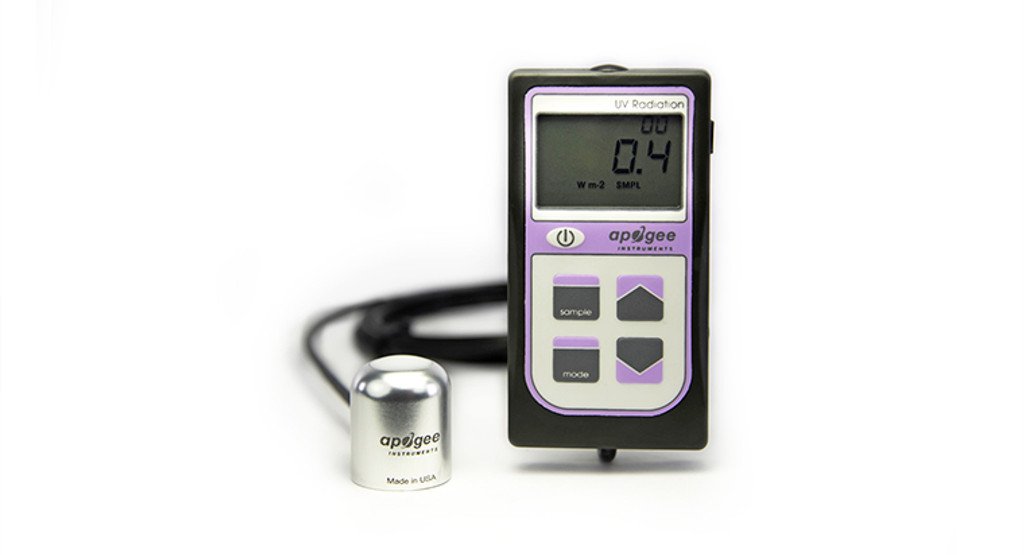 MU-250: UV-A Separate Sensor with Handheld Meter