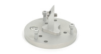 Apogee Instruments AL-210 Meter Leveling Plate/Mounting Bracket-Side view