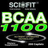 BCAA 1100 ER (1100mg/Serving - 200 Tablets)