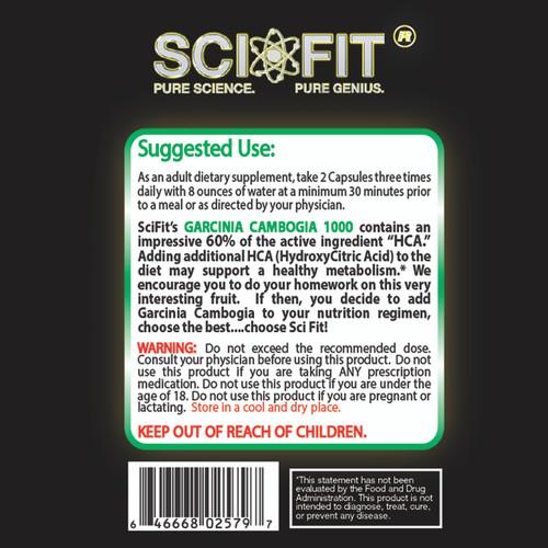 Garcinia 50% HCA 1000 120 count Capsules