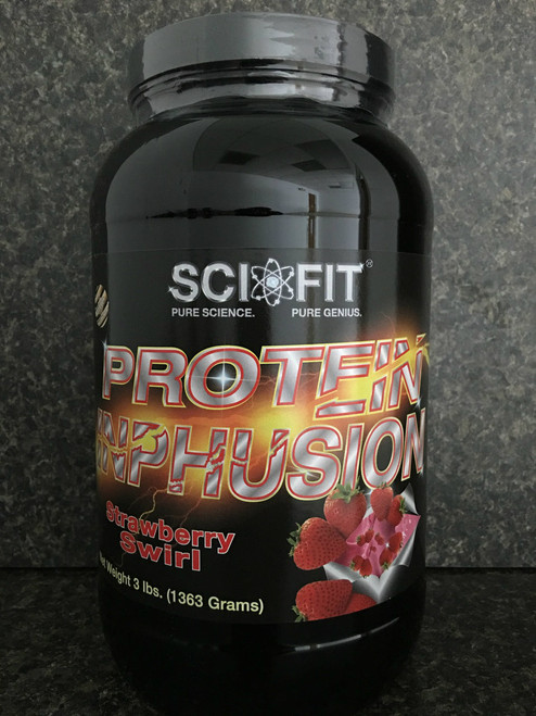 Protein INPHUSION (3lb) - Strawberry Swirl