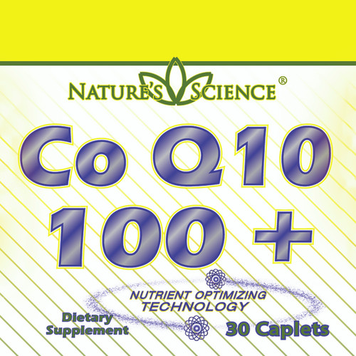 CoQ10 (100mg) ER  30 count Tablets