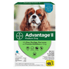Advantage II for Dogs 11-20lbs, 6 Month Supply