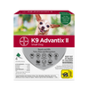 K9 Advantix II - Small Dog (under 10lbs, 4 dose card)