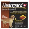 Heartgard Plus Chewable Tablets for Dogs 51-100 lbs (6 Chews)