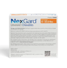 Nexgard Chewables for Dogs 4-10 lbs (Orange Box)