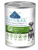 Blue Natural GI Gastrointestinal Support Low Fat Canned Dog Food (12/12.5 oz Cans)