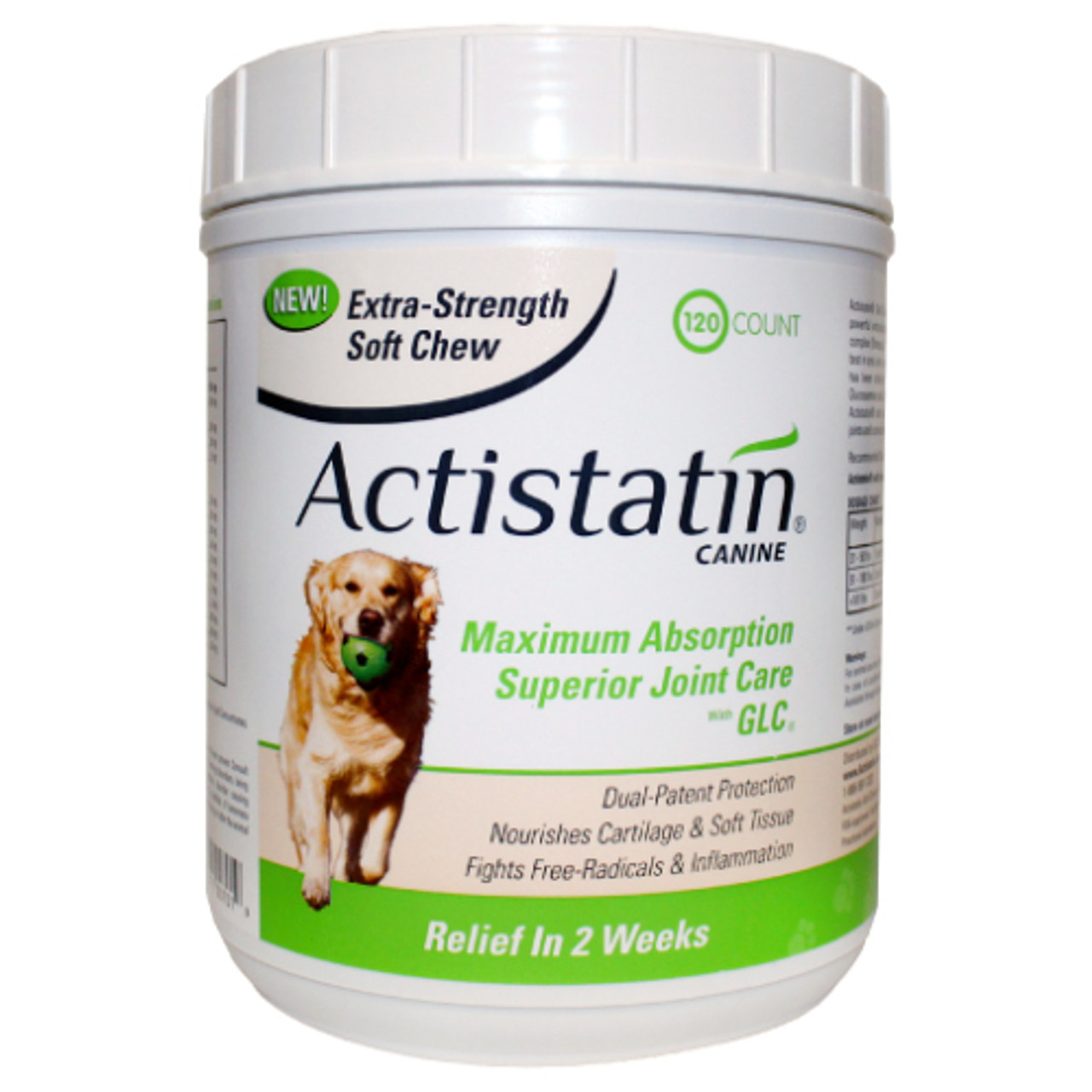 Actistatin Extra Strength for Large Dogs (120 Soft Chews)