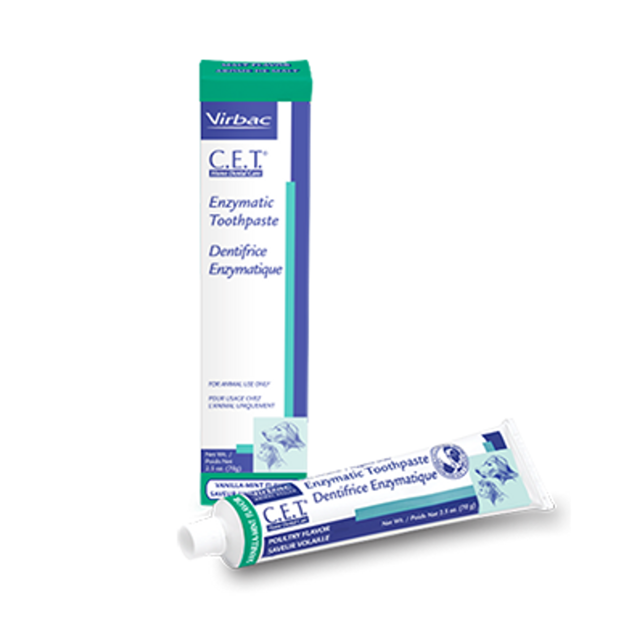 C.E.T. Enzymatic Toothpaste (Vanilla Mint Flavor)
