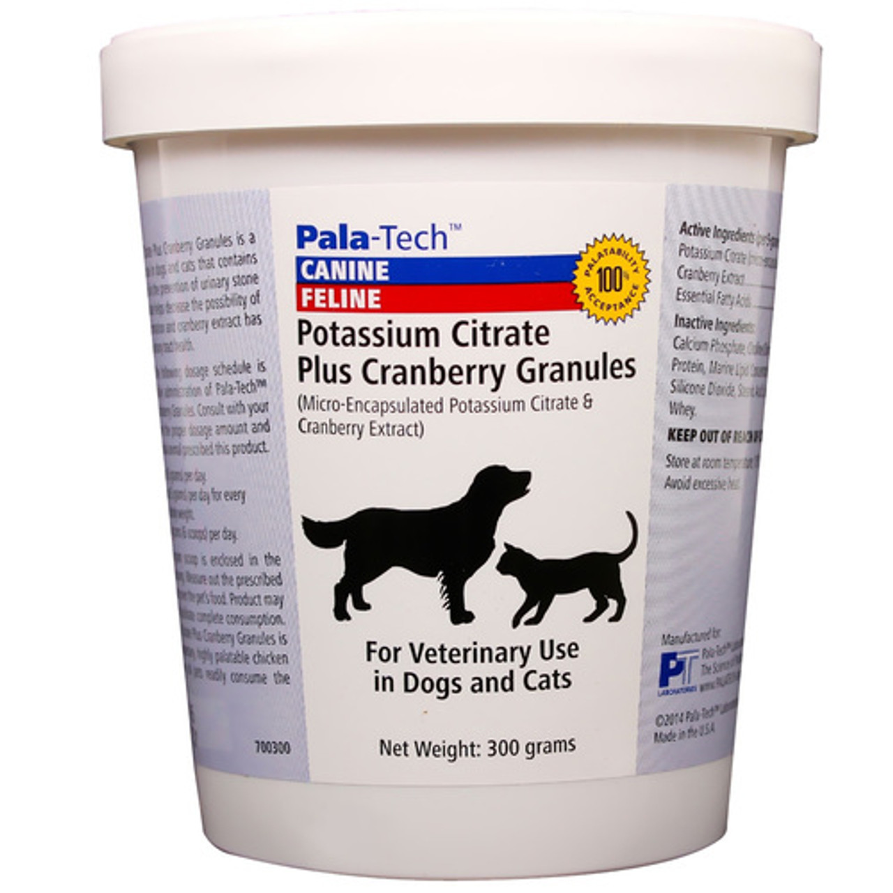 Potassium Citrate Plus Cranberry Granules for Dogs & Cats