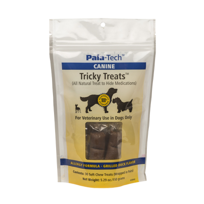 Canine Tricky Treats Allergy Formula - Grilled Duck Flavor