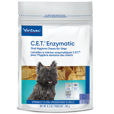 C.E.T. Enzymatic Chews for Dogs (Small) (30 Ct.)