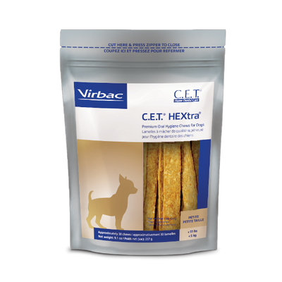 C.E.T. HEXtra Chews for Dogs (Petite)