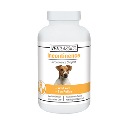 Vet Classics Incontinence Support Tablets for Dogs (120 ct.)