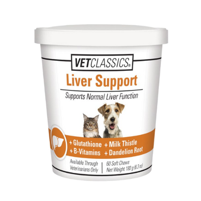 Vet Classics Liver Support Soft Chews (60 count)