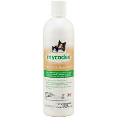 Mycodex P3 Flea & Tick Shampoo Triple Strength (12 oz.)