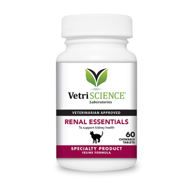 Renal Essentials Chewable Tablets for Cats (60 count)