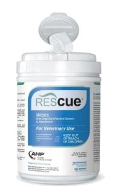 Rescue Disinfectant Cleaner & Deodorizer Wipes (160 ct.)