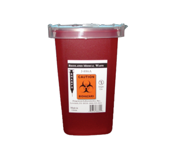 Sharps Disposal Container - J0886A