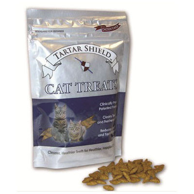 Tartar Shield Treats for Cats (4.5 oz. bag)