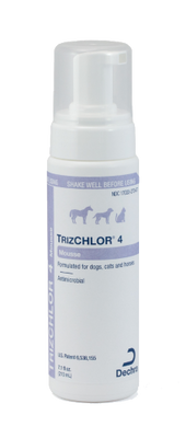 TrizCHLOR 4 Mousse for Cats, Dogs, and Horses (7.1 oz.)