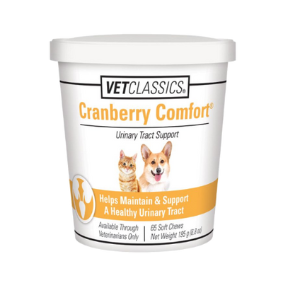 Vet Classics Cranberry Comfort for Dog & Cat (65 Soft Chews)