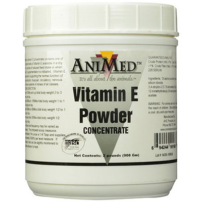 Vitamin E Concentrate Powder for Horses (2 lb.)