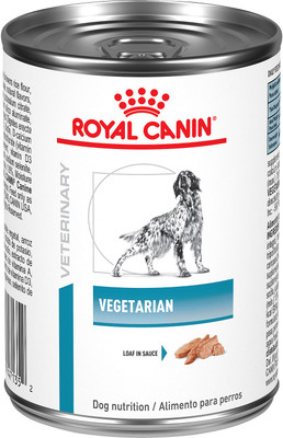Vegetarian Canned Dog Food (24/13.6 oz Cans)