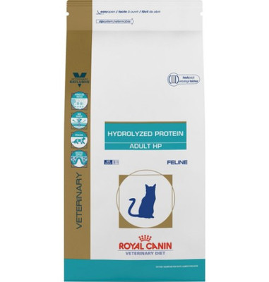 Royal Canin Veterinary Diets Hydrolyzed Protein Adult HP Feline (7.7 lb) (Old Packaging)