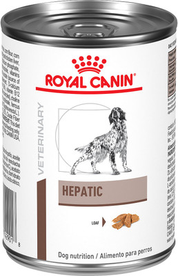Royal Canin Hepatic Canned Dog Food (24/14.4 oz Cans)