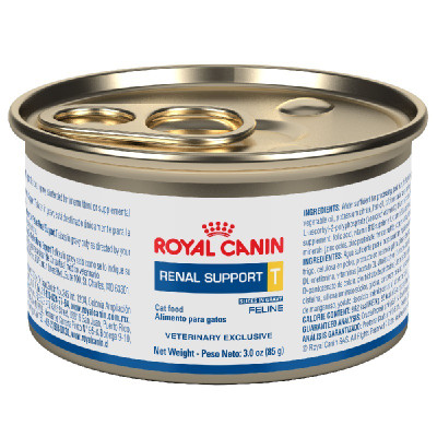 Royal Canin Veterinary Diets Renal Support T Canned Cat Food (24/3 oz Cans)