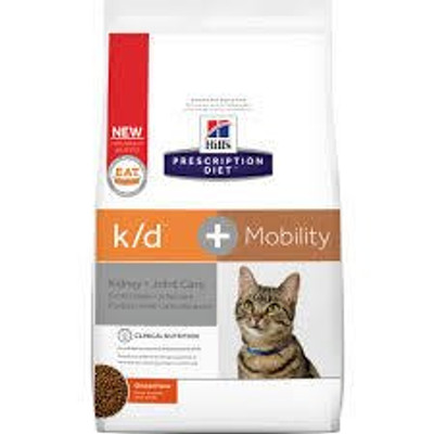 Kidney Care k/d + Mobility Dry Cat Food (6.35 lb)