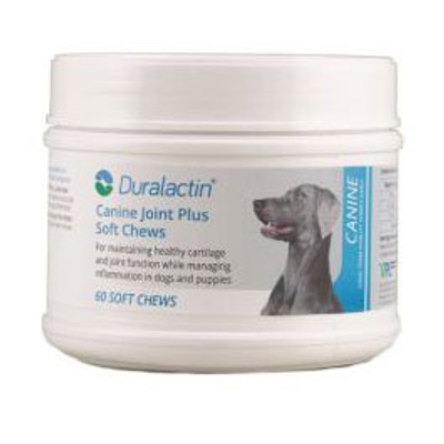 Duralactin Joint Plus Soft Chews for Dogs (60 count)