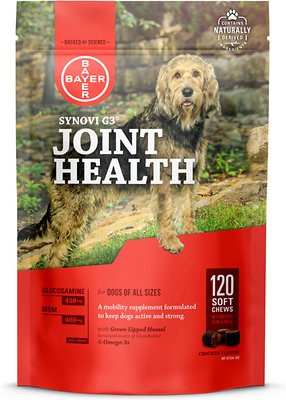 Synovi G3 Joint Health Soft Chews (120 count)