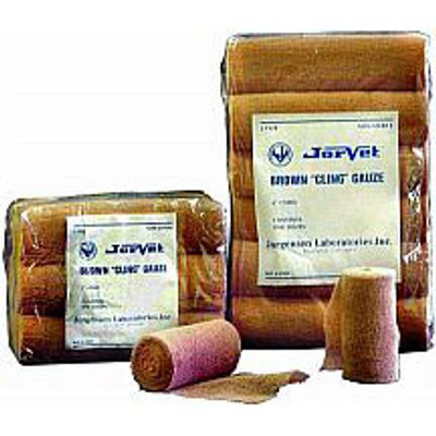 Brown Cling Gauze (6in. x 5 yds.)