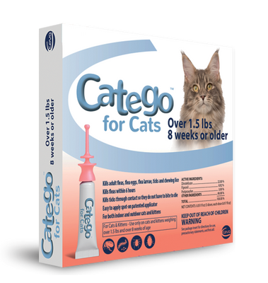 Catego Topical Solution for Cats (3 doses)