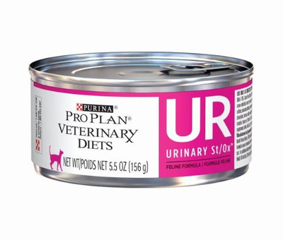 Purina Pro Plan UR Urinary St/Ox Canned Cat Food Pate (24/5.5 oz Cans)