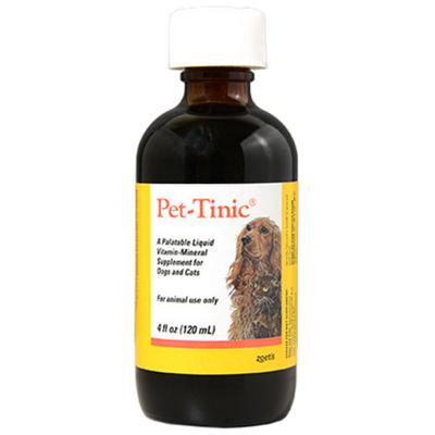 Pet-Tinic Drops for Dogs and Cats (4 oz.)