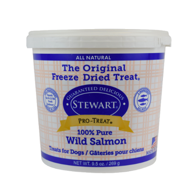 Stewart Pro-Treat Freeze Dried Wild Salmon (9.5 oz)