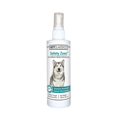 Safety Zone Canine Natural Herbal Calming Spray for Dogs (8 oz.)