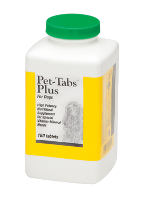 Pet-Tabs Plus for Dogs (180 ct)